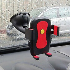 Universal 360° Rotating Car Windshield Mount Holder Stand Cradle for Cell Phone