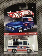 2009 Hot Wheels 'DELIVERY' Series Ice Cream Truck ISKY RACING CAMS w Real Riders