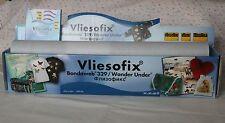 1m Vliesofix Bondaweb/Wonder debajo de 45cm de ancho