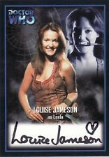 Doctor Who Series Two Louise Jameson as Leela AU7 Auto Card