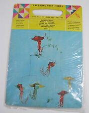 SEALED VINTAGE RAVENSBURGER HOBBY MODERNIST BIRDS OF PARADISE MOBILE DIY KIT