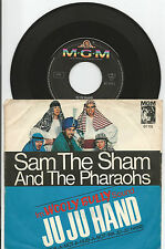 "SAM THE SHAM and the Pharaos ""Ju Ju Hand""  7"" Single MGM 61115"