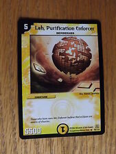 Duel Masters TCG - DM-01 Base Set - Lah, Purification Enforcer 10/110