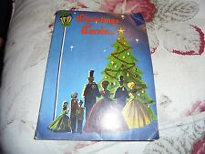 Carolers on the cover holiday Christmas Carols book vintage music singing