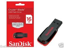 SanDisk 16GB / 16 GB USB Pendrive Flash Cruzer Blade - cash on delivery @ 396