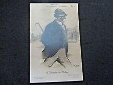 """France 1918 Henri Boulet Lithograph, postcard """"Je fais la guerre"""", unposted,"""