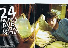 Coupure de presse Clipping 2005 24 heures avec Harry Potter (8 pages)