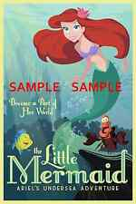 "The Little Mermaid ( 11"" x 17"" ) Movie Collector's Poster Print - B2G1F"