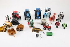 Assortment of Die-Cast Tractors and Heavy Equipment -Includes 18 Pieces Total