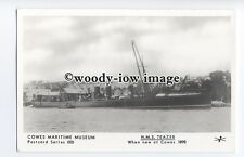 pp2012 - Cowes Maritime Museum, H.M.S.Teazer, when new in 1898 - Pamlin postcard