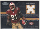2003 Fleer 'Hot Materials' - T.O. Terrell Owens - Game Used Jersey 109/150 49ers