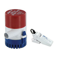 Rule 800 GPH Round Non-Automatic Bilge Pump w/Rule-A-Matic Float Switch - 12V