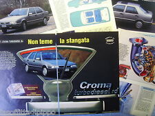 QUATTROR993-PROVA SU STRADA/ROAD TEST-1993- FIAT CROMA TD ID -6 fogli