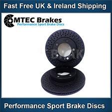 Porsche Boxster 986 2.7 99-04 Front Brake Discs Mtec Drilled  Black Edition