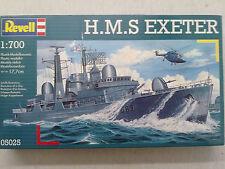 Revell 05025 HMS Exeter 1:700 Neu in geöffneter OVP mit Lagerungsspuren