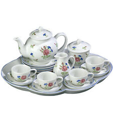 Andrea by Sadek Child's Colonial 18 PC Tea Set!  Adorable for any young lady!