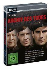 5 DVDs *  ARCHIV DES TODES - Jürgen Zartmann  # NEU OVP -