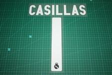 Real Madrid 09/10 #1 CASILLAS Awaykit Nameset Printing