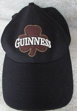 Guinness Baseball Hat Cap One Size Fits Most Black EUC