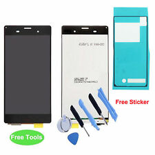 Black LCD Display Touch Screen Digitizer Assembly For Sony Xperia Z3 D6603 D6643