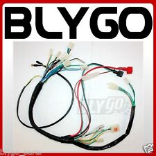 Electric Start Wiring Harness Loom + Light Wires PIT QUAD DIRT BIKE ATV BUGGY