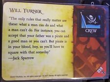 Wizkids Pirates of the Caribbean #059 Will Turner Pocketmodel CSG