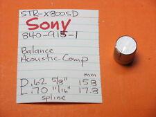 SONY 840-915-1 BAL ACOUSTIC COMP KNOB STR-7800SD STR-6800SD STR-5800SD RECEIVER
