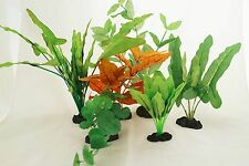 Aquarium Plants for Plastic Tank Silk COMBO B (7)