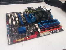 Used Working ASUS P6T Rev 1.01G Motherboard w/ Core i7, 16gb RAM, Video Card