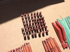 Lincoln Logs (Lot)   Vintage & Other Wooden Lincoln Logs in Hasbro GI Joe Box