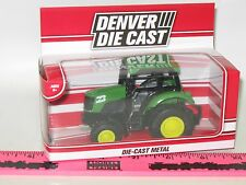 The Menards ~ Red Santa Fe Railroad tractor Denver Die Cast vehicle