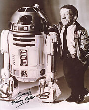 STAR WARS Autograph 8x10 Photo- Kenny Baker as R2-D2 (EBAU-1246)