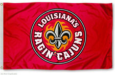 UL Lafayette Fleur Logo Ragin Cajuns University of Louisiana at Lafayette 3' x 5