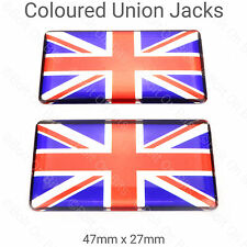 Union Jack Badges Mini Cooper GT 1275 Mayfair Mpi 1000