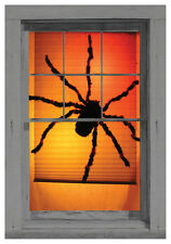 Black Widow Spider Wowindow Window Poster Halloween Decoration NEW