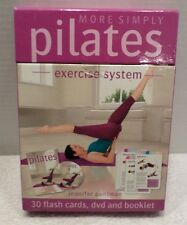 More Simply Pilates Exercise System: DVD, Booklet & Flash Cards Jennifer Pohlman