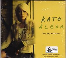 Kate Alexa - My Day Will Come - CD - Brand New Sealed + Poster