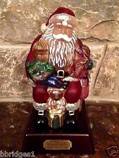 Old World Christmas - 2014 Wishes & Dreams Santa Light - 30th Ann.(529769) - NIB
