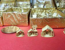 3 KRIPPE  assembled MONTIERT TOP PRICE  Erzgebirge Sachsen Miniatur WOHLESALE