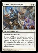 MTG Magic RTR FOIL - Knightly Valor/Valeur chevaleresque, French/VF
