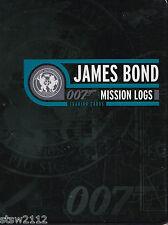 JAMES BOND MISSION LOGS ULTRA MASTER SET AUTOGRAPHS RELICS CASE INCENTIVES+++