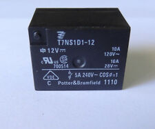 1 pc Relay 12V coil, 10A contact, SPST by TE-CONNECTIVITY P/N T7NS1D1-12