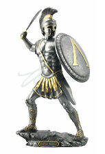 NEW Spartan Warrior With Sword And Hoplite Shield Statue Figures FAST SHIPPING