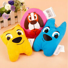 Dog Pet Puppy Chew Funny Toy Vocal Squeaky Sound Cartoon Shape Speaker Plush