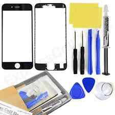 for Black Apple iPhone 6S Front Outer LCD Touch Screen Glass Replacement kit