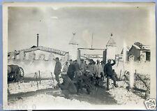 photo ancienne . Algérie porte de aïd m'Hamed . 1925 . guerre . militaire