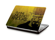 Laptop Skin Breaking Bad - I Am The One Who Knocks Vinyl Decal (CLS-305)