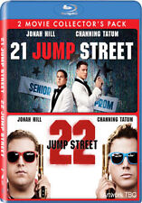 21 JUMP STREET / 22 JUMP STREET - DOUBLE PACK - BLU-RAY - REGION B UK