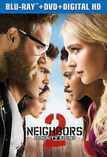 Neighbors 2: Sorority Rising (Blu-ray + DVD + HD Digital Copy + Bonus Disc!!)