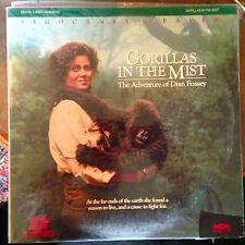 Gorillas In The Mist  - LASERDISC  Buy 6 for free shipping